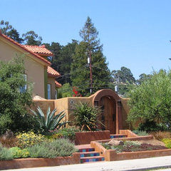 mediterranean exterior by Kathleen Shaeffer Design, Exterior Spaces