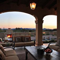 Mediterranean Exterior by Schwab Luxury Homes and Interiors