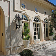 Mediterranean Exterior by Shiflet Group Architects