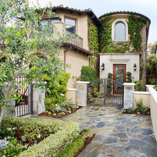 Mediterranean Exterior by About:Space, LLC
