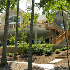 Traditional Exterior by Pippin Home Designs, Inc