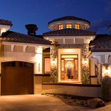 Mediterranean Exterior by Rentfrow Design, LLC