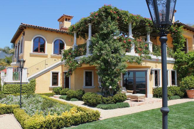 Mediterranean Exterior by Mark Wryan Design