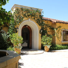 Mediterranean Exterior by Mark Wryan Design