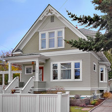 Traditional Exterior by Logan's Hammer Building & Renovation