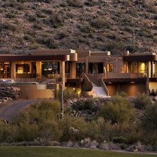 Contemporary Exterior by Process Design Build, L.L.C.