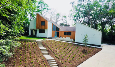 Updated Front Yard Offers Curb Appeal and Lounge Space