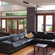 Contemporary Exterior by Jaime Kleinert Architects