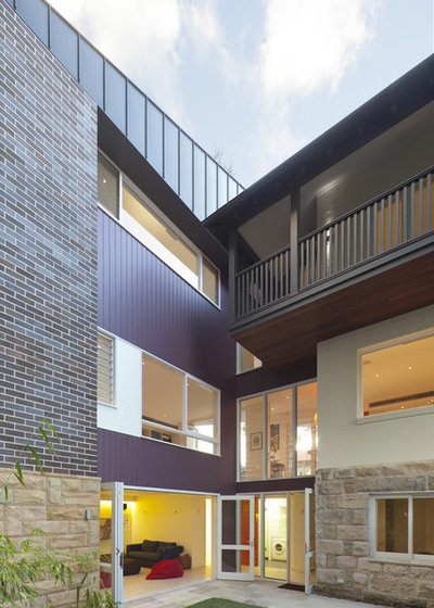 Contemporary Exterior by Melocco and Moore Architects