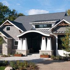 Craftsman Exterior by kevin akey -azd architects - florida