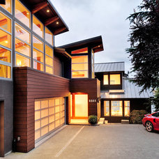Contemporary Exterior by GDW/a pllc