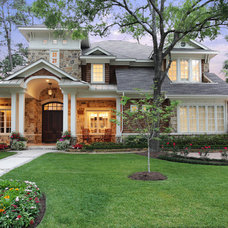 Traditional Exterior by Brickmoon Design
