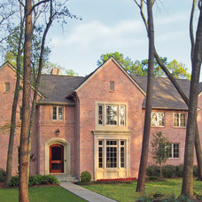 Traditional Exterior by Virginia W. Kelsey, AIA