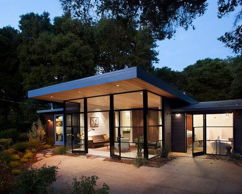 A frame glass exterior design ideas renovations amp photos