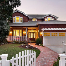 Traditional Exterior by Studio S Squared Architecture, Inc.