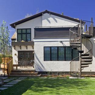 Roof Deck Spiral Stair Houzz