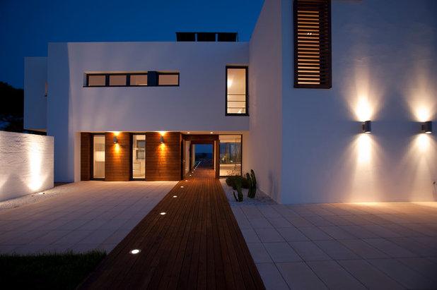 Qu iluminacin es la ms apropiada para el exterior de la casa