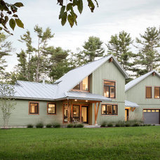 Contemporary Exterior by Whitten Architects