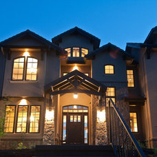 Exterior by dC Fine Homes & Interiors