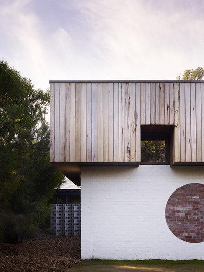 Contemporary Exterior by Kennedy Nolan