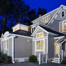 Traditional Exterior by JUDITH REPP ARCHITECTS