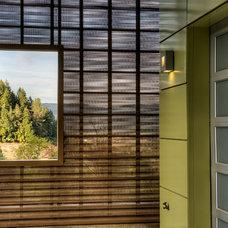 Modern Exterior by Treve Johnson Photography