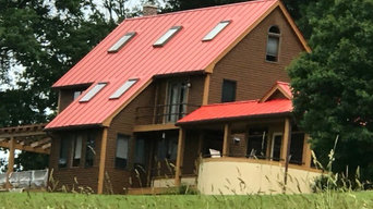 Metal Roof Sand & Repaint, and Full House Exterior Painting