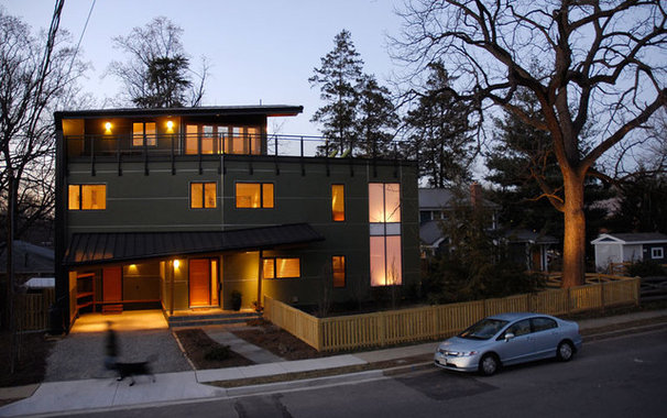 Contemporary Exterior by Kaplan Thompson Architects