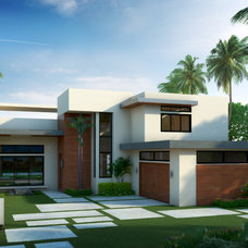 Modern Exterior by In-Site Design Group LLC