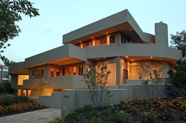 Contemporary Exterior by Michael Knorr