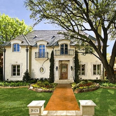 Traditional Exterior by Michael Molthan Luxury Homes Interior Design Group