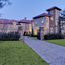 Mediterranean Exterior by MICHAEL MOLTHAN LUXURY HOMES