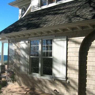 Michigan Beach House Detail