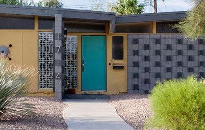 Midcentury Exterior Charm in Las Vegas' Paradise Palms