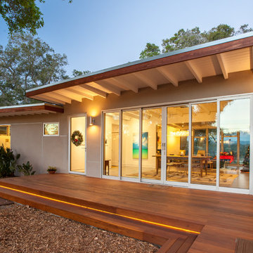 Mid-century Front Porch Remodel