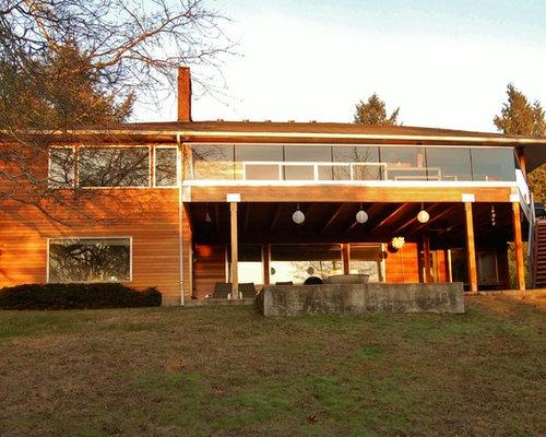 Midcentury Exterior Design Ideas Renovations Photos