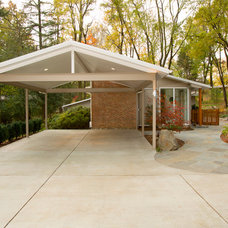 Traditional Exterior by Christine Kelly / Crafted Architecture