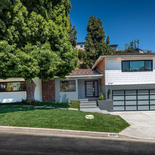 Mid-Century Modern Exterior Front | Wrightwood Residence | Studio City, CA