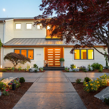 Mid-Century Modern home remodel