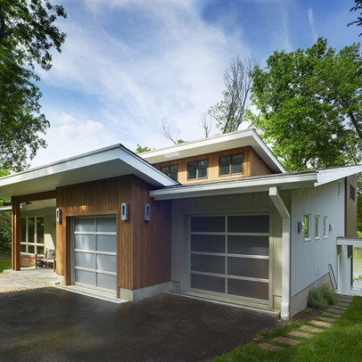 renovation and whole house remodel of a mid century modern home on a