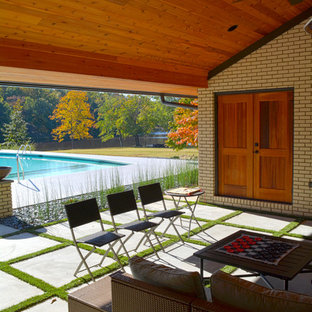 Mid-Century Modern Mother-In-Law Suite Addition