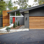 enchanting rural mid century modern midcentury bedroom seattle   Rural Mid-Century Modern - Midcentury - Exterior - Seattle ...