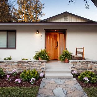 Mid-Century Modern Ranch - Exterior Entry