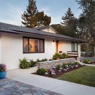 Mid-Century Modern Ranch - Exterior Left Side