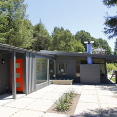Midcentury Exterior by Ward-Young Architecture & Planning - Lafayette, CA
