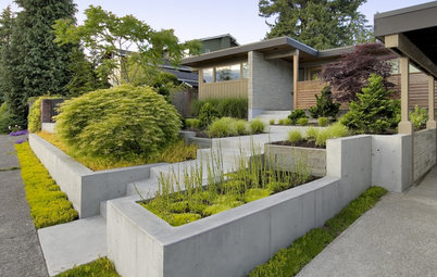 Garden Walls: Pour On the Style With Concrete