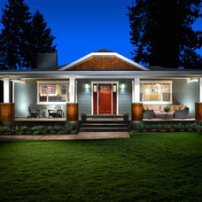 Traditional Exterior by KellCraft Design Build