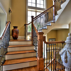 Traditional Staircase by Blansfield Builders, Inc.