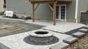 Middletown outdoor living space