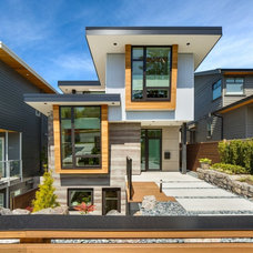 Contemporary Exterior by Swick's Organic Landscaping